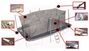 GearOne trampolin